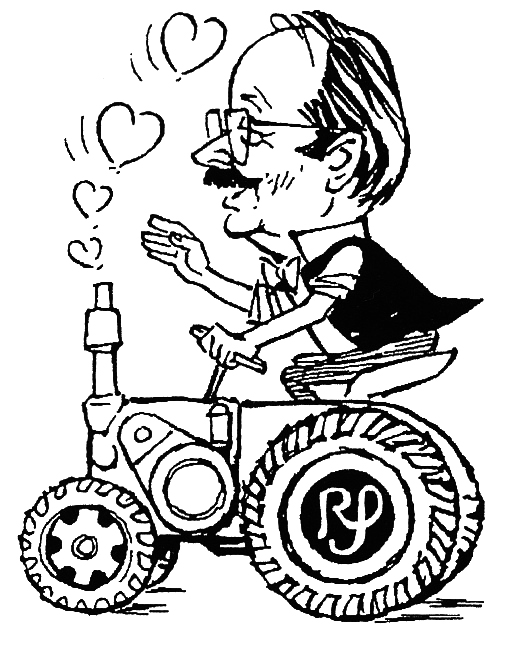 Rainer Schulz - Karrikatur