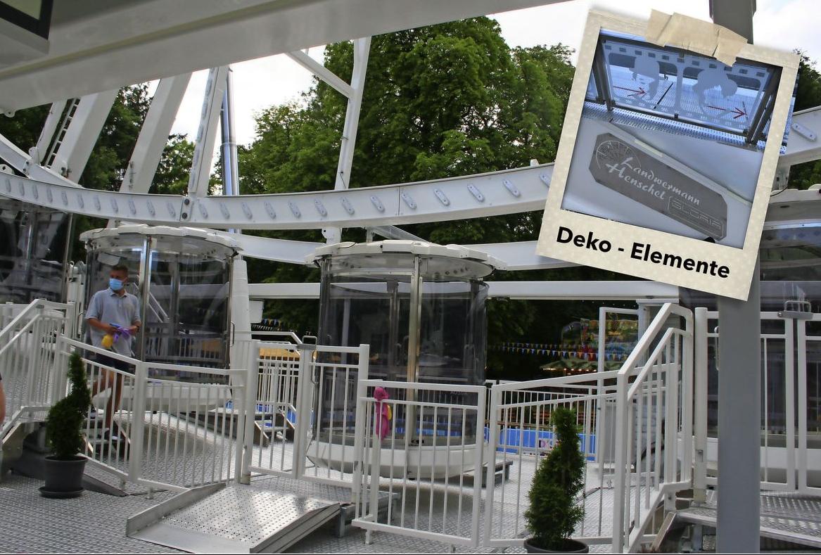 Ansicht des Bahnhofs und Deko - Movie Star 2