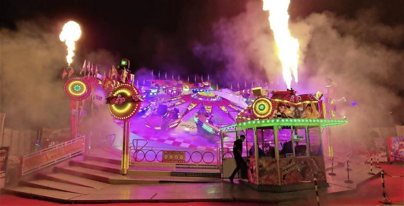 Feuerspiele in Leipzig