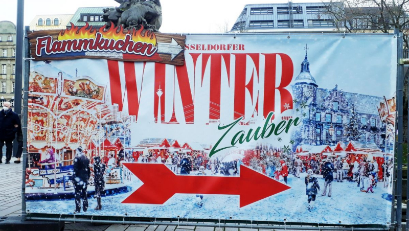 Winterzauber Düsseldorf - Plakat