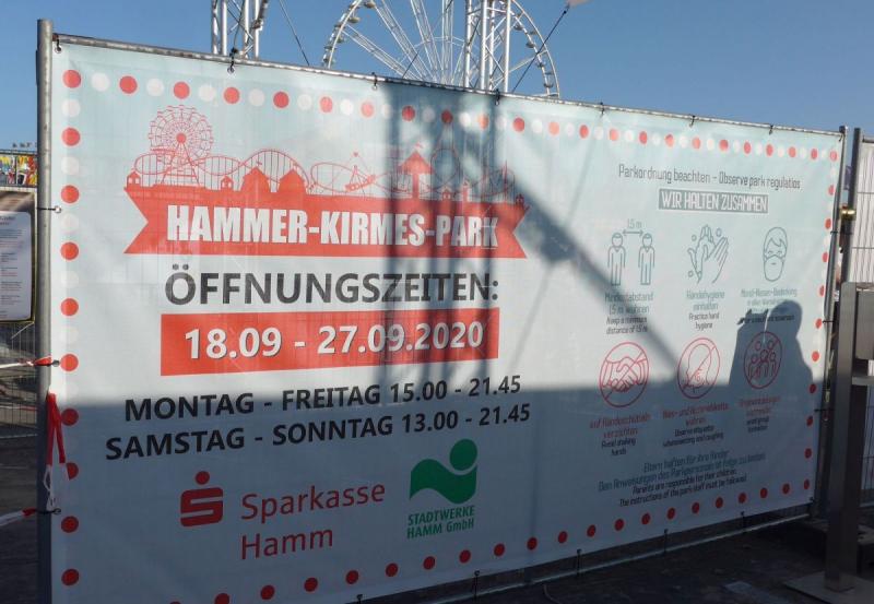 Hammer-Kirmes-Park Plakat