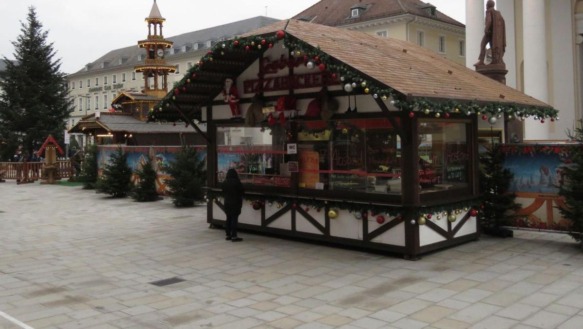 Karlsruhe als Weihnachtsstadt - Stände