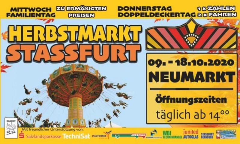 Herbstmarkt in Staßfurt