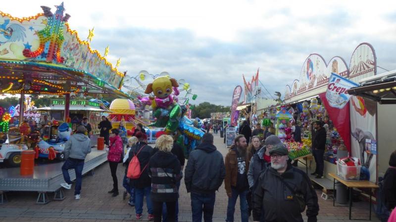 Herbstmarkt in Staßfurt - viel los!