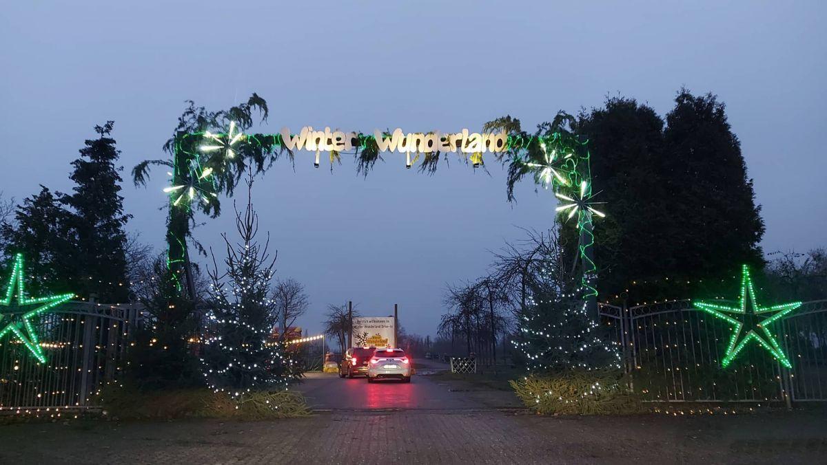 Weihnachts-Drive-in Kalkar -Los geht's