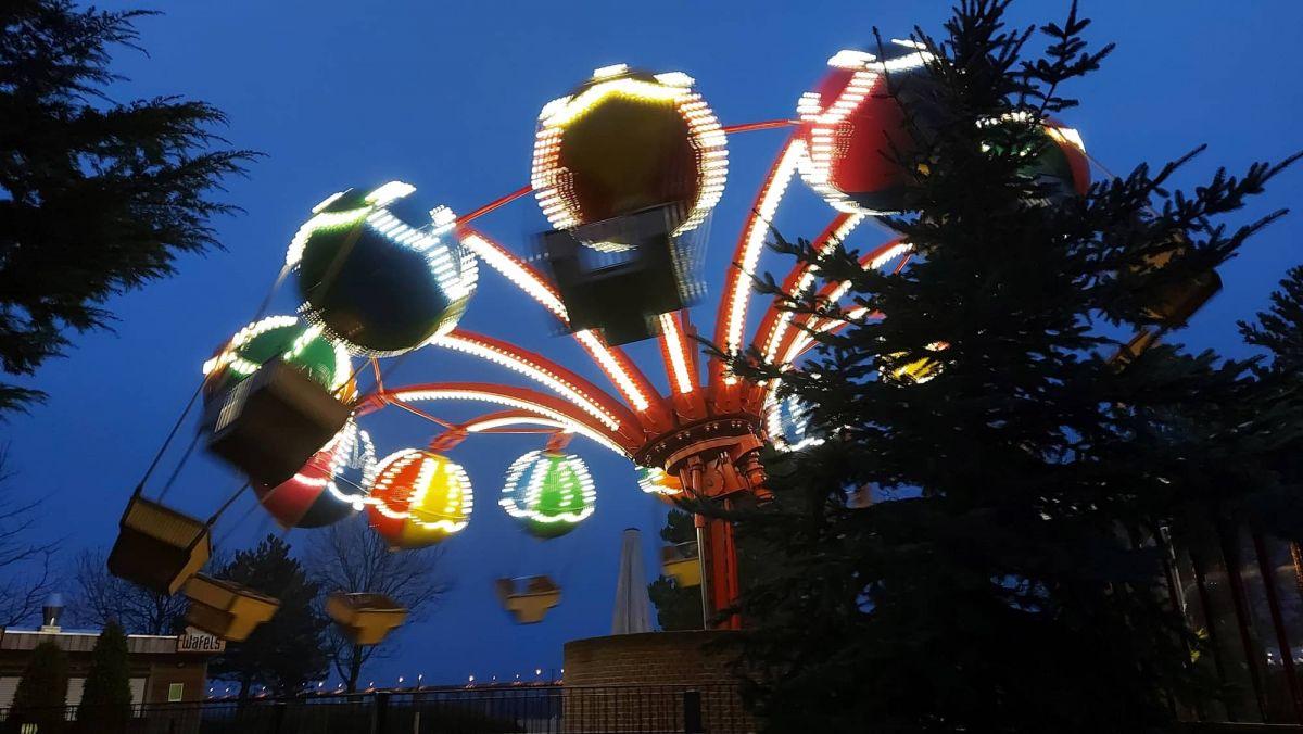 Weihnachts-Drive-in Kalkar -Ballonfahrt ohne Gäste